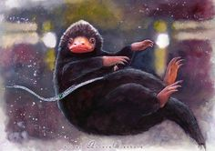 Catching a Niffler by AuroraWienhold