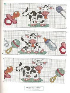 vaches avec biberon