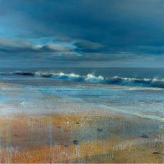 """Vero Beach"" - James Lahey  (60"" x 60"", Oil and mixed media on canvas)"