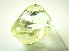 Rough natural unpolished and uncut diamonds.