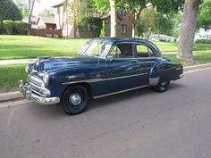 1951 Chevrolet Deluxe 4-Door Sedan my first car.   i bought it in 1964 about 3 months before  I got my learner's permit