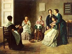 Gioacchino Toma, School for Blind lacemakers
