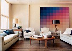 quadro de pixel.