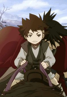 Kotaro and Nanashi - The ending of this movie just killed me. I NEED TO KNOW WHAT HAPPENS TO THEM