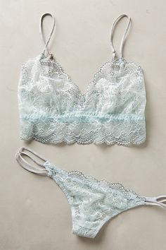 Eberjey Moonbeam Thong - anthropologie.com