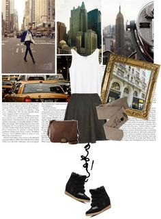 """A hot dog at the game beats roast beef at the Ritz."" by this-is-tori ❤ liked on Polyvore"