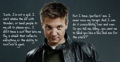 Jeremy Renner... I may be a little bit obsessed haha