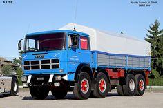 Antique Trucks, Vintage Trucks, Semi Trailer, Fiat Abarth, Heavy Duty Trucks, Classic Trucks, Heavy Equipment, Cars And Motorcycles, Cool Cars