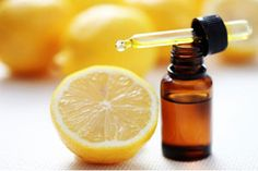 Homemade Lemon Essential Oil