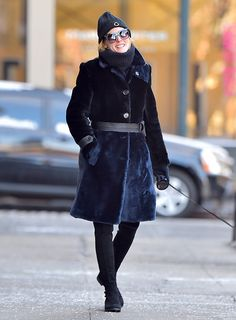 Olivia Palermo is seen in Brooklyn on January 6 2017 in New York City