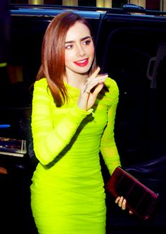 Lily Collins<3