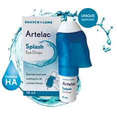 Bausch + Lomb is proud to introduce a Dry Eye range, Artelac®. Dry Eye, Eye Drops, Spray Bottle, Lenses, Range, Health, Cookers, Health Care, Airstone