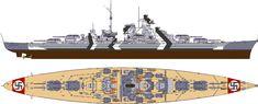 "German Battleship The ""Bismarck"""