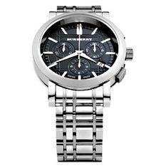 99eb569e6de Burberry Men s Swiss Chronograph Watch BU1360 Relógio Burberry