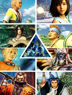 Final Fantasy X - I LOVED this game, prob spent at least 100 hrs playinback in the day! ~JW