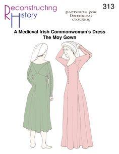 Moy Gown | Medieval Irish Gown | 15th Century Irish Gown