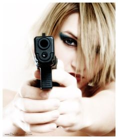 In my opinion, every woman should own & know how to operate a hand gun.