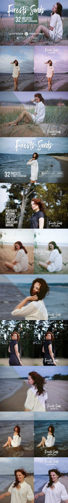 Forests & Sands Lightroom Presets. Actions. $12.00
