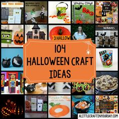 104 Halloween DIY Craft Ideas to fit every budget with Halloween almost here get to work!