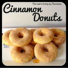 The road to loving my Thermomix: Cinnamon Donuts