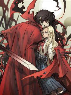 hellsing, anime, and manga image
