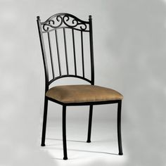 Wrought Iron Side Chair - Set Of 4 $650