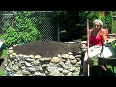 Keyhole gardening - interesting method.  In the center of raised bed is a fenced-in core that you throw compost items into, providing water and nutrients to the soil. Check out site for garden bounty.
