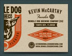 Brewery business card pig breweryor just check out their new brewery business cards by kendrick kidd i like the offset logo placement and the use colourmoves