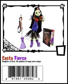 Casta Fierce http://www.amazon.com/Monster-High-Casta-Fierce-Doll/dp/B00IVFCD42