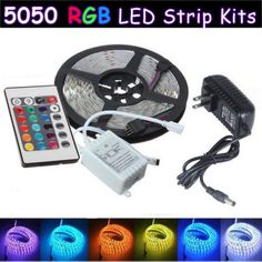 Led Light Strips With Remote Beauteous Casung 12Pcs 144 Leds Motorcycle Led Light Kit Strips Multicolor Design Decoration