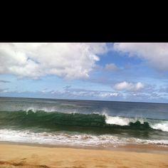 Perfect Waimea wave