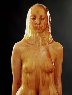 Preservation: Blake Little photos of people covered in honey