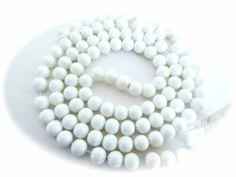 Cristal Gloss color G26 8mm, collar con 105 cuentas $12.00 precio especial a mayoristas. mazo de 20 collares $180.