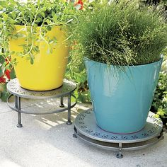 Fiesta Large Planters | Crate and Barrel