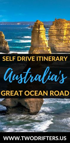 Don't take a Great Ocean Road tour with a group...drive it yourself! Our One day Great Ocean Road itinerary will help you see all the best spots on the road.   Australia roadtrip | The Great Ocean Road in one day | Things to do in Victoria