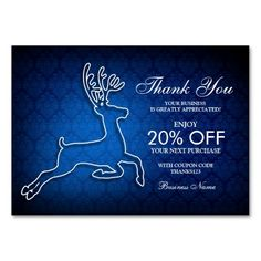 Customer Appreciation Thank You Packaging Inserts Large Business Cards (Pack Of 100)