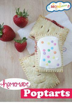Easy Homemade Strawberry Poptarts