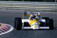 Keke Rosberg McLaren - TAG Porsche 1986