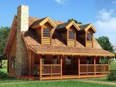log cabin log-cabins .... OH, DREAMY !!!