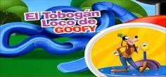 La Casa de Mickey Mouse en Español Capitulos Completos Juegos El tobogán loco de Goofy