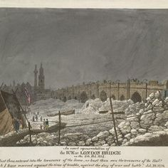 London Bridge, 1814