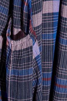 APIECE APART - Medina Printed Voile Top - Royal blue - US10