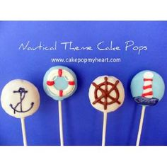 Nautical idea for party---- @Alisa Bobzien Tucker and @Debbie Arruda Watanabe  these would be cute for Misha's shower with oreos