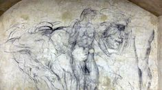Sketches on the walls of a once hidden room of a museum in Florence help shed light on the Renaissance artist's creative process — and on a mysterious and dangerous period in his life. Renaissance Artists, High Renaissance, Secret Hideaway, Hidden Rooms, French History, Green Technology, Emmanuel Macron, Secret Rooms, Michelangelo