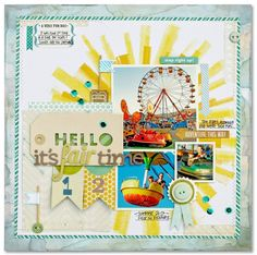 #papercraft #scrapbook #layout. Scrapbooking Ideas Inspired by Kim Watson's Layouts   Get It Scrapped