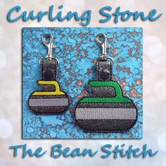 CurlingStone - TWO Sizes INCLUDED!