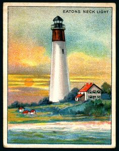 Cigarette Card - Eatons Neck Lighthouse | Flickr - Photo Sharing!