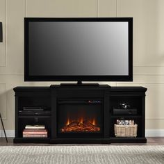 Bryn TV Stand with Electric Fireplace