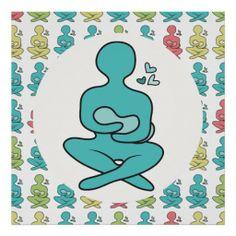 Breastfeeding Mother & Baby Pattern