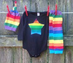 Rainbow star from Mamarunswithscissors on etsy
